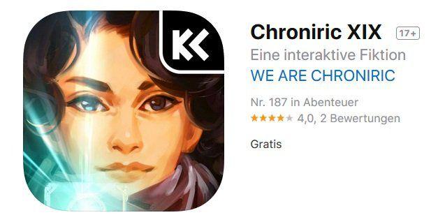 iOS: Chroniric XIX kostenlos (statt 3,49€)