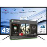 Philips 436M6VBPAB UltraHD Monitor + Xbox One X 1TB The Division 2 Bundle ab 884€ (statt 1.066€)