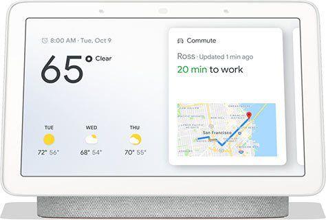 Google Nest Hub Smart Display für 113,39€ (statt 129€)