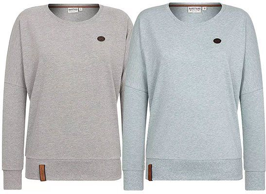Naketano Damen Sweatshirt Analbella in vielen Farben ab 17,87€ (statt 31€)