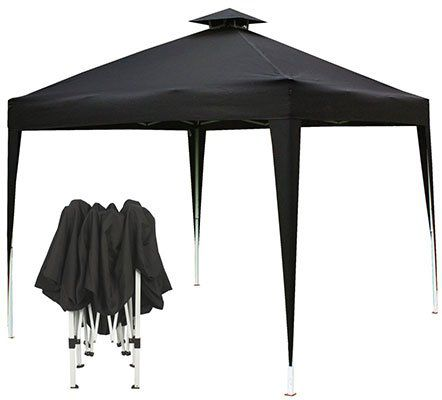 El Fuego Grillpavillon in 250x250 oder 300x300 für 54,99€ bzw. 64,99€ (statt 100€)