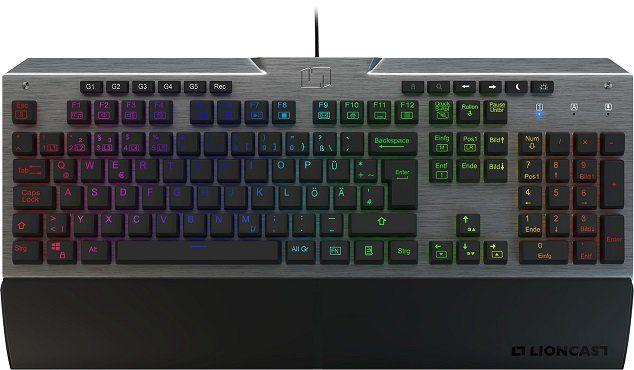 Top! Lioncast LK300 RGB Tastatur mit mechanischen Tasten für 93€ (statt 110€)