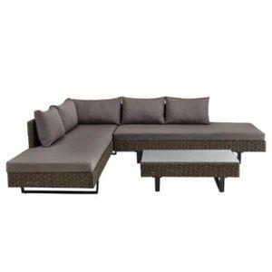 🔥 Loungegarnitur Martha inkl. Tisch, Auflagen & Kissen ab 349,30€ (vorher 699€)