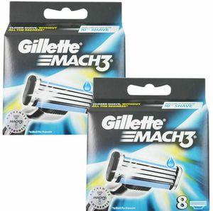 16 Gillette MACH3 Rasierklingen für 24,99€ (statt 28€)