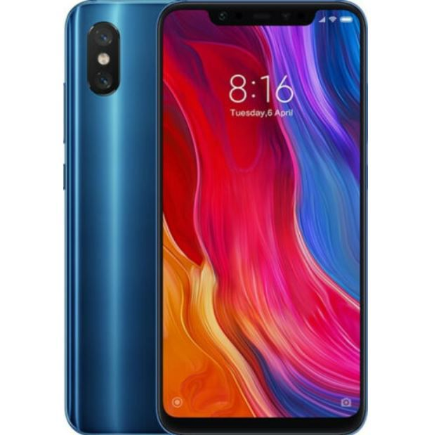 Xiaomi Mi 8 6,21 blaues Smartphone mit 64GB Speicher für 219€ (statt 244€)
