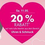 Galeria-Kaufhof: Heute 20% Rabatt auf Uhren und Schmuck