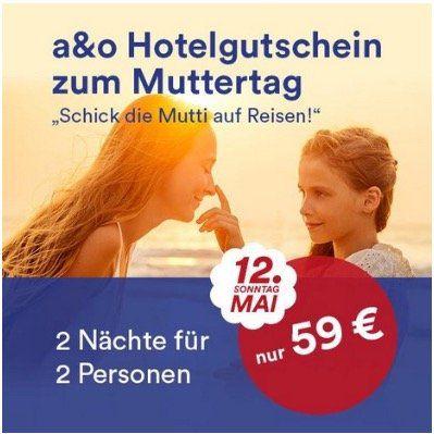 Endet heute! A&O Special Hotel Gutschein 2 Personen (+2 Kinder) für 2 ÜN in 36 Hotels europaweit nur 59€