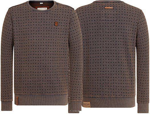 Naketano Sweatshirt Selbstbefriedigungsjustiz II in Braun für 18,47€ (statt 43€)   nur S & XL!