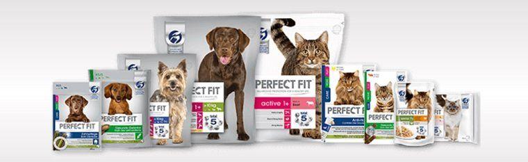 Perfect Fit Katzen  und Hundefutter kostenlos