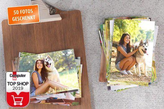 Kostenlos: 50 Fotos im 10er Format bei Pixum für Neukunden   nur 3,99€ Versandkosten
