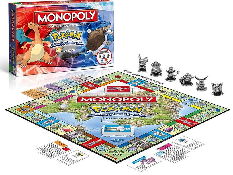 Monopoly Pokémon Kanto Edition für 29,99€ (statt 45€)