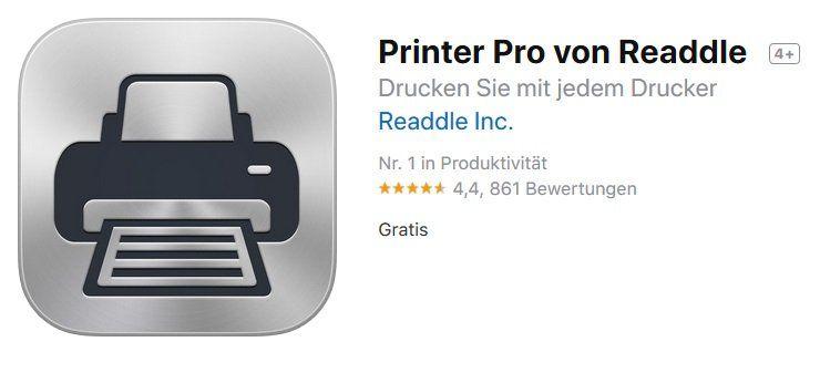 iOS: Printer Pro kostenlos (statt 8€)