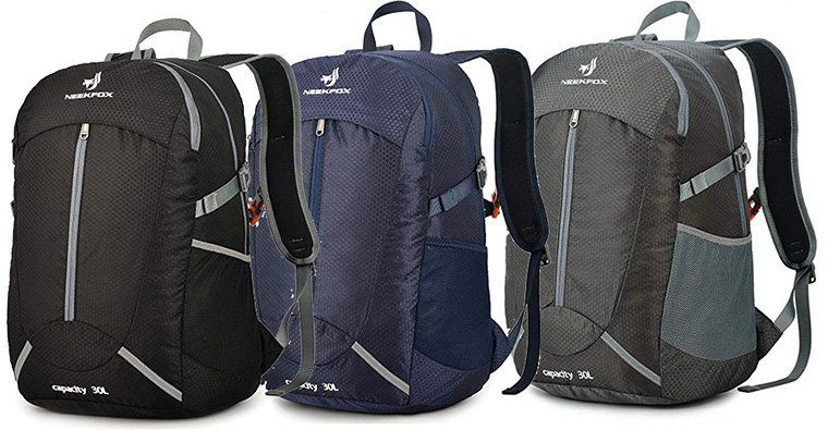NEEKFOX 30L Rucksack in 5 Farben für je 14,99€ (statt 25€)