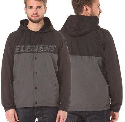 Element Übergangsjacke Hooded Coach für 38,36€ (statt 58€)
