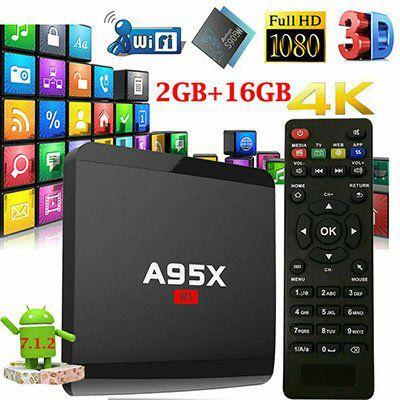 A95X R1 TV Box mit Fernbedienung und Android 7.1.2, 2GB RAM & 16GB ROM für 24,99€   aus DE