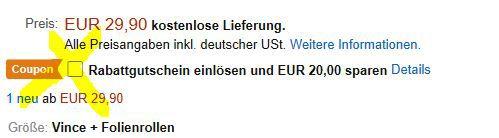 Geht wieder: Springlane Vince Vakuumierer für 9,90€ (statt 30€)
