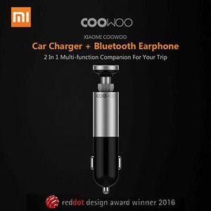 Xiaomi CooWoo Kfz Ladegerät & Bluetooth Kopfhörer für 23,40€ (statt 28€)