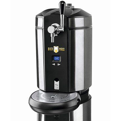 BierMaxx Bierzapfanlage mit 3 CO2 Kapseln für 82,30€ (statt 119€)