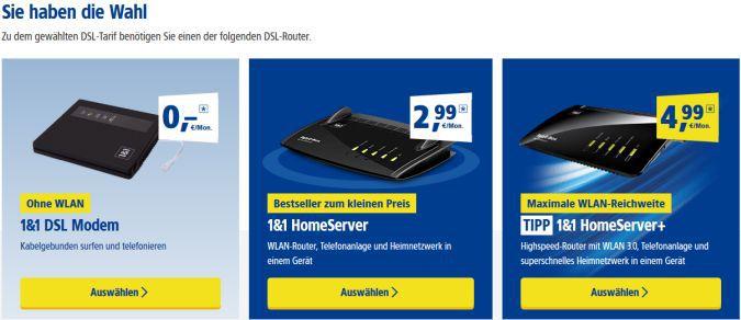Landgericht Koblenz: Einschränkung der Routerwahl seitens 1&1 nicht zulässig