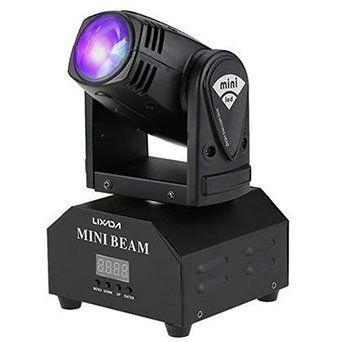Lixada 50W DMX512 Moving Head mit 4 Steuerungsmodi für 33€   aus DE