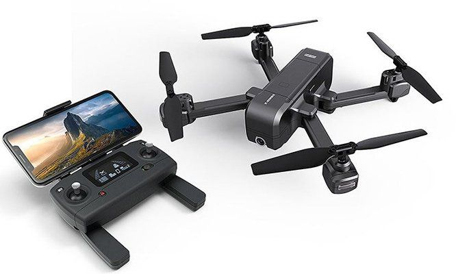 MJX X103W GPS FPV Drohne mit 2K WIFI Cam für 75,65€   aus DE