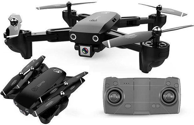 CSJ 1080p FPV Drohne mit 18min Flugzeit mit 1 Akku für 64,99€   aus DE