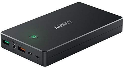 Aukey PB T5   QC 2.0 Powerbank (20.000mAh) mit Lightning & Micro USB für 21,99€ (statt 37€)