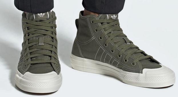 adidas Originals Nizza Hi RF Herren Sneaker ab 37,48€ (statt ~80€)