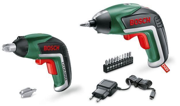 Bosch Akkuschrauber IXO 3.6 V + Spielzeug Akkuschrauber IXO LINO Family Set für 32,50€ (statt 41€)