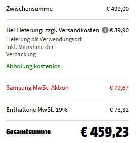 Samsung RL33J3005SA/EG   Kühl Gefrierkombi mit NoFrost ab 419,33€ (statt 495€)