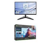 Philips 31,5″ 4K-Monitor + Xbox One X 1TB Battlefield V Gold Rush für 888€ (statt 1.015€)