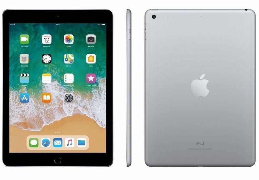 Apple iPad 2018 WLAN mit 32GB für 266€ (statt 305€)   Neuware