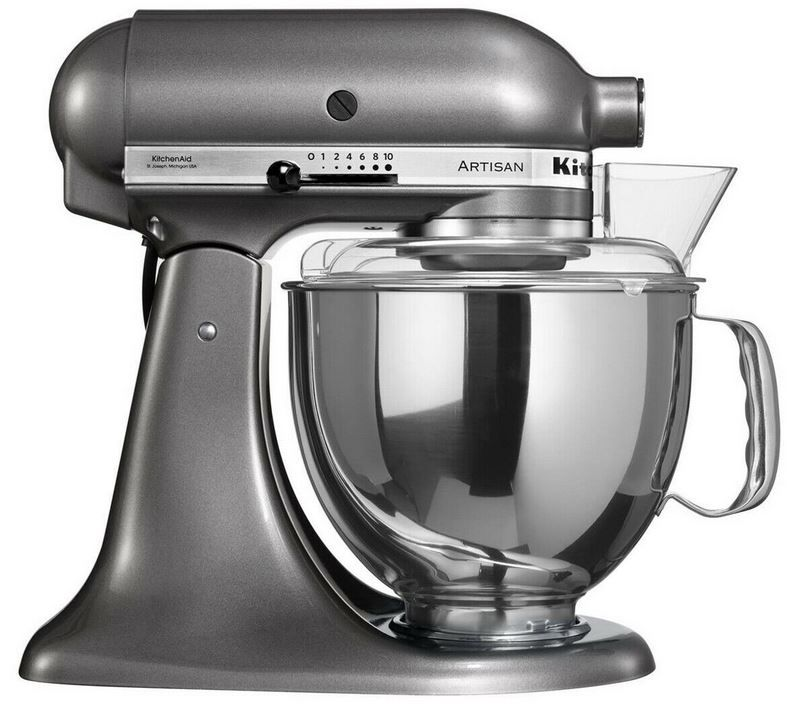 KitchenAid Artisan 5KSM150 in Metallic für 299,90€ (statt 395€)