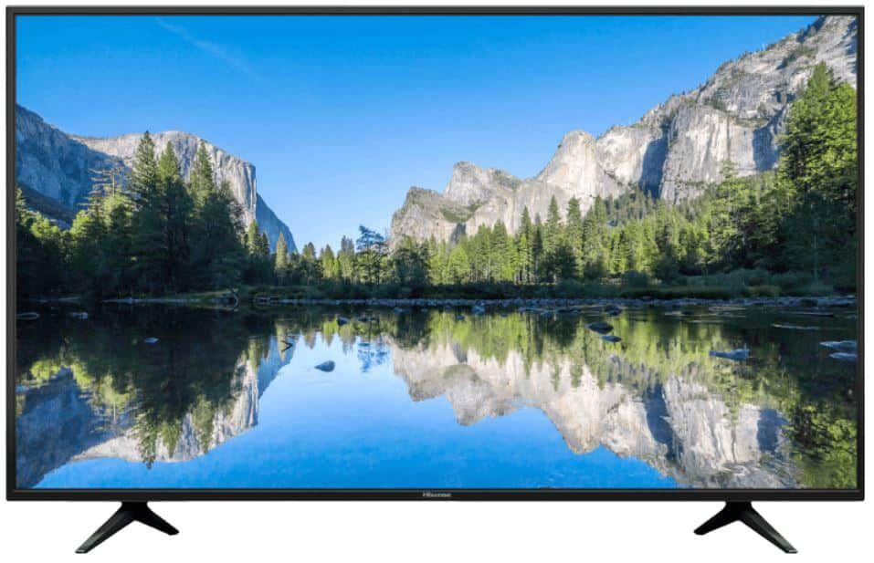 HISENSE 58 UltraHD TV mit HDR10 Triple Tuner für 388€ (statt 475€)