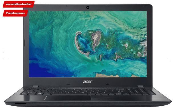 ACER Aspire E15   15.6 FullHD Notebook mit i7, 8GB RAM, 256GB SSD für 609€ (statt 714€)