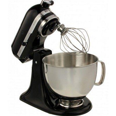 KitchenAid 5KSM175PSEOB Artisan Küchenmaschine in Onyx Schwarz für 354,90€ (statt 432€)