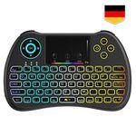 TecBoss TC001 Bluetooth Mini Tastatur mit Touchpad für 9,59€ – Prime