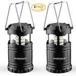 2er Pack: faltbare LED Campinglampe für 9,99€ – Prime