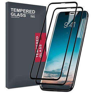 2erPack: Meidom Panzerglas Schutzfolie für iPhone XR für 7,39€   Prime