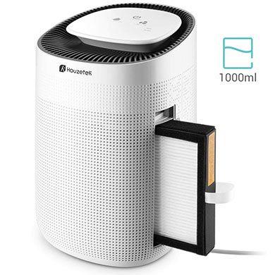 Houzetek Q7 elektrischer Luftentfeuchter &  reiniger (1000ml) für 42,99€ (statt 86€)