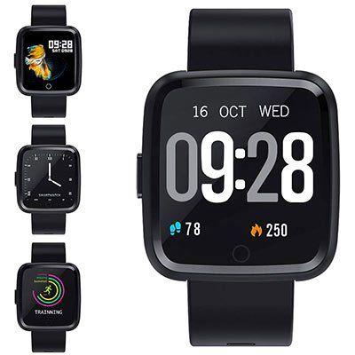 Zagzog Smartwatch & Fitnesstracker mit Farbdisplay für 23,99€ (statt 40€)