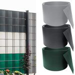 30% Rabatt auf PVC Sichtschutzstreifen in diversen Farben – z.B. 65 Meter x 19cm für 25,89€ (statt 37€)