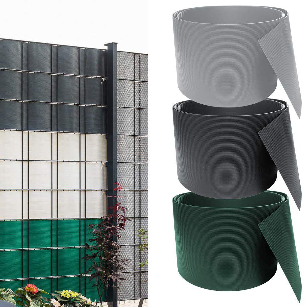 30% Rabatt auf PVC Sichtschutzstreifen in diversen Farben – z.B. 10x 2,52 Meter x 19cm für 34,99€ (statt 50€)