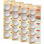20x CR2032 3V Lithium Knopfzellen für 3,49€ – Prime