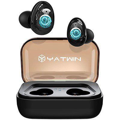 Yatwin TWS P9 InEar Kopfhörer mit Ladebox für 27,53€ (statt 46€)