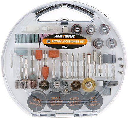 Meterk MK31   180tlg Zubehörset für Multifunktionswerkzeug für 8,54€ (statt 15€)