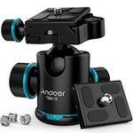 Andoer TB81X Stativ-Kugelkopf 360 Grad für z.B. DSLR-Kameras für 18,69€ (statt 26€)