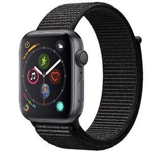 Apple Watch Series 4 GPS 44mm Space Grau oder Silber mit Sport Loop für 393,66€ (statt 439€)
