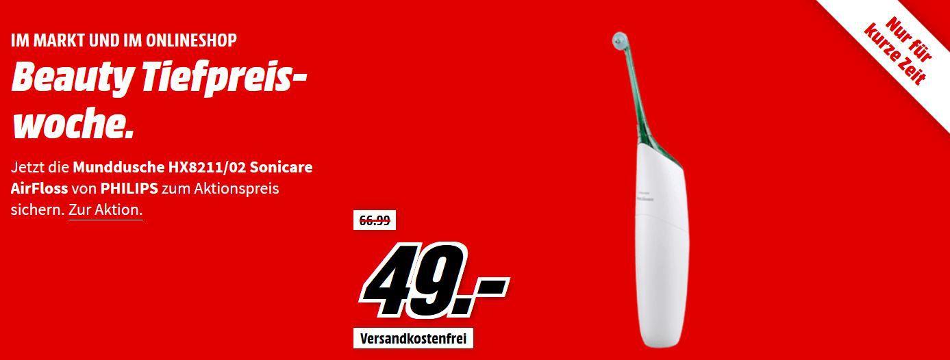 Media Markt Beauty Tiefpreis Woche: Letzter Tag z.B. PHILIPS HX 6807 ProtectivClean 2er Pack Schallzahnbürste für 69€ (statt 99€)