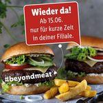 Heute wieder bei Lidl: Beyond Meat Burger Patties im Doppelpack für 4,99€